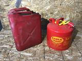 (2) 5gal. Metal Jerry Can