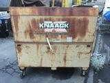 Tall KNAACK Rolling Jobsite Box