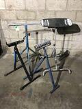 Lot of (4) Heavy Duty Stands