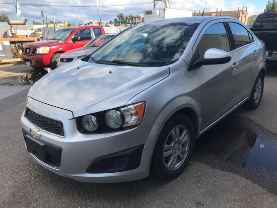 2014 Chevrolet Sonic LT***BEING SOLD ON LIEN SALE DOCUMENTS ONLY***SALVAGE TITLE***