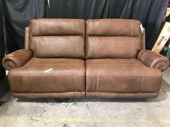 Red Barrel Studio Skeete Reclining 91in. Round Arms Sofa