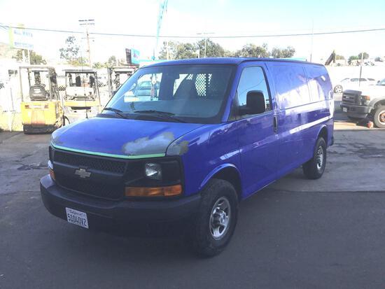 2009 Chevrolet 2500 Express Cargo Van