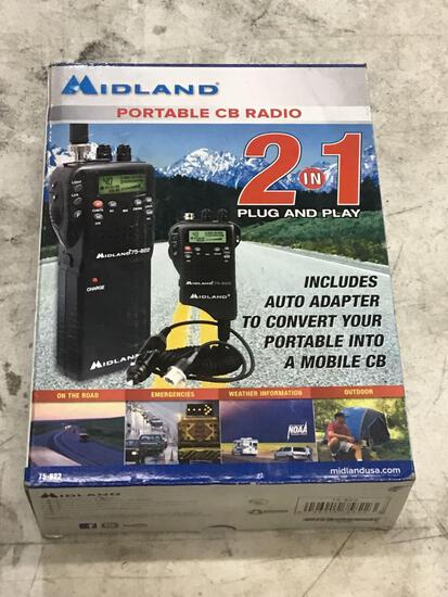 Midland 2 in 1 Plug and Play Portable CB Radio