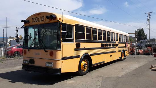 1993 40ft Thomas 79 Passenger School Bus with CATERPILLAR Diesel Engine