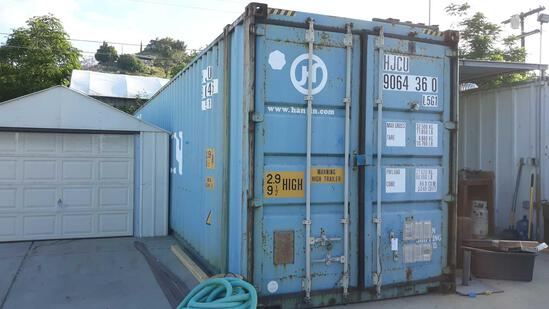 45ft H x 8ft W x 9.5ft H Shipping Container with Lighting