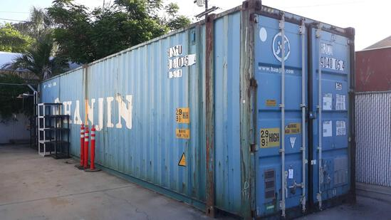 45ft L x 8ft W x 9.5ft H Shipping Container with Lighting