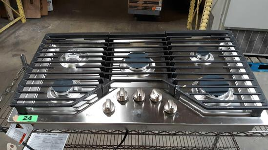 GE Profile 36in. Built-In Gas Cooktop***NEW NEVER USED***