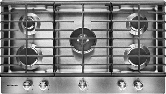 KitchenAid 36in Built in 5-Burner Gas Cooktop