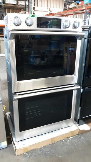 "Samsung 30"" Flex Duo Built in 5.1cu. Ft. Double Wall Electric Oven***NEW NEVER USED***"