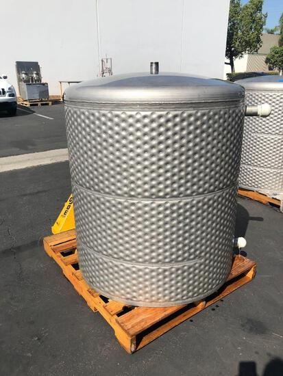 240 Gallon Dimple Jacketed Tank