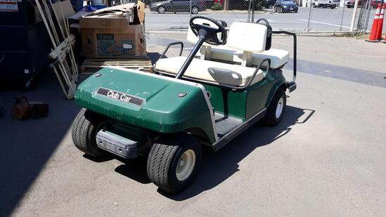 Club Car 48 Volt 4 Person Electric Cart ***NOT CURRENTLY WORKING***