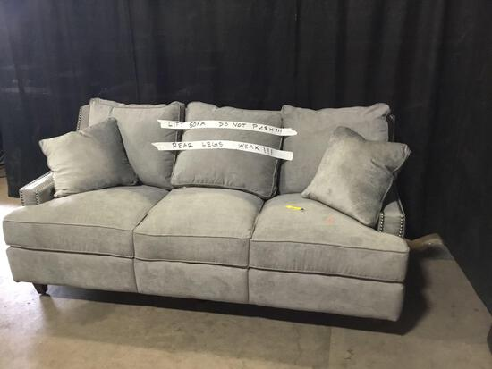 Tricia Power Reclining 83in. Recessed Arm Sofa
