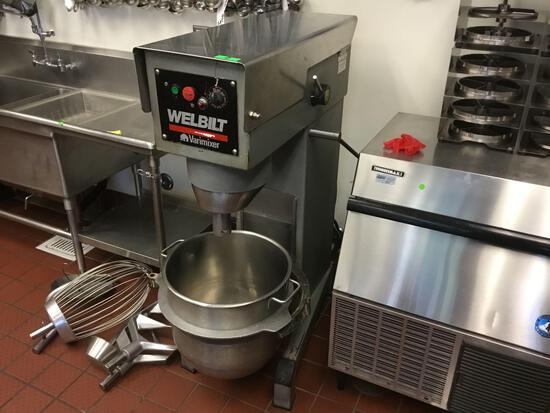 Welbilt Varimixer Commercial 60qt Planetary Mixer With Attachments