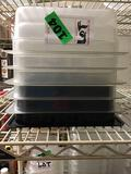 Lot of (5) Cambro Plastic Food Storage Containers