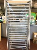 Aluminum Baking Sheet Speed Rack with (1) Baking Pans