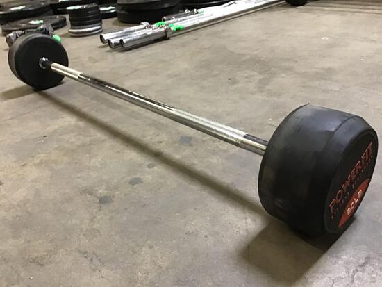 Powerfit 90LB Fixed-Weight Barbell