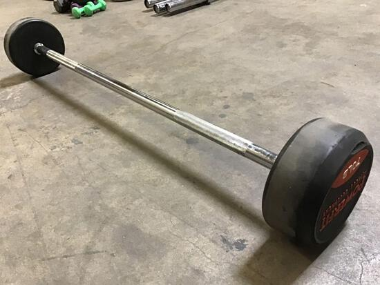 Powerfit 70LB Fixed-Weight Barbell