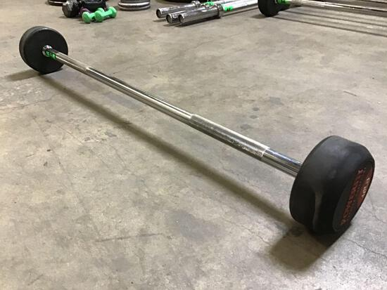 Powerfit 40LB Fixed-Weight Barbell