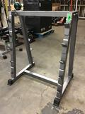 Powerfit 10-Space Vertical Barbell Stand