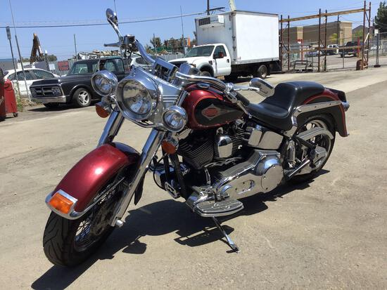 2000 Harley Davidson Heritage Softail***STARTS AND RUNS***MISSING KEY***