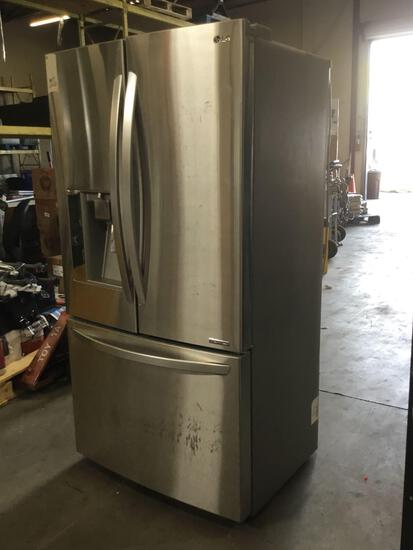LG 23.7 cu. ft. French Door Counter Depth Refrigerator***DOES NOT GET COLD***