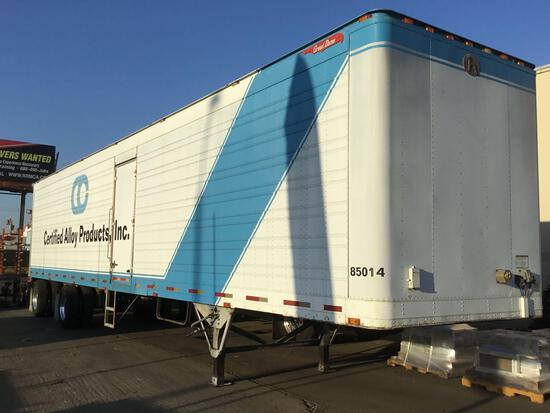 1999 Great Dane 48ft Dry Trailer with Roll-Up Rear Door and Side Access Door