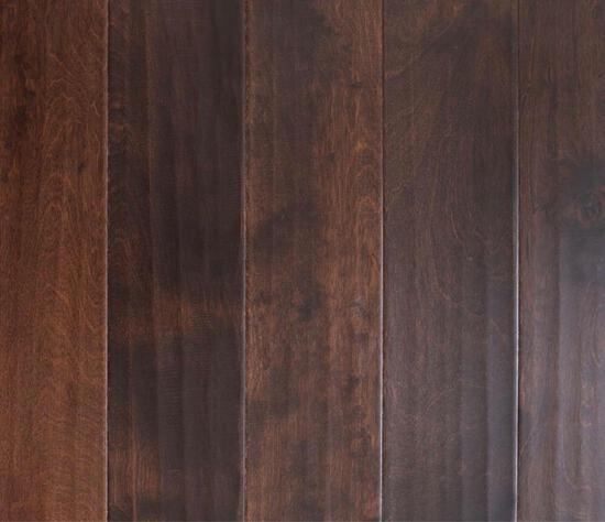 (10) Cases of Blue Ridge Scraped Birch Raisin Click Lock Engineered Hardwood Flooring
