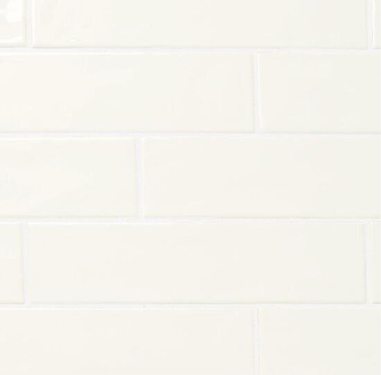 (15) Cases of Marazzi LuxeCraft White Glazed Ceramic Subway Wall Tile