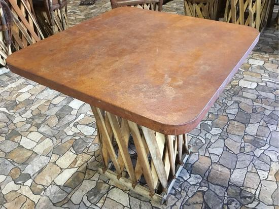 Jalisco Equipale Square Table