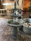 3-Tier Faux Stone Water Fountain