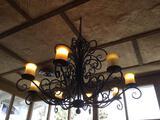 8-Light Decorative Chandelier