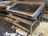Imperial 48in. Commercial Gas Counter-Top Grill w/Stainless Steel Stand
