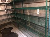 (2) Metal Wire Utility Racks