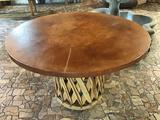 Jalisco Equipale Round Table