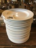 (24) Ceramic Round Plates