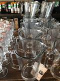 (6) Glass Pitchers