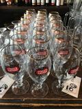 (10) Stella Artois Glasses