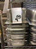 (9) Metal Food Pans