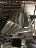 (8) Metal Food Pan Lids