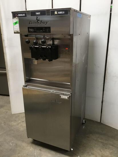 Electro Freeze Dual 20 Quart Pressurized Soft Serve Freezer With VQM ***WORKING***