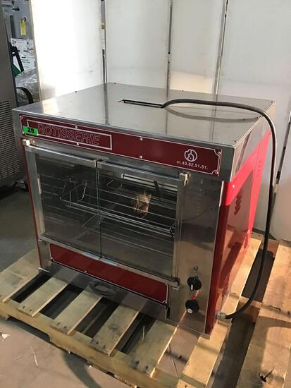 Materiel Alimentaire Diffusion Electric Rotisserie Oven