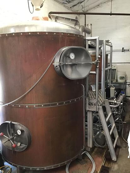 Complete 12-15 Double Tank Brew System