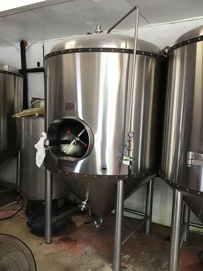 10 Barrel, Stainless Steel, Vertical, Cone Bottom Fermenter