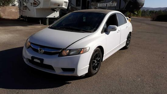 2009 Honda Civic Hybrid***FOR DEALER/DISMANTLER OR EXPORT ONLY*SALVAGE CERTIFICATE*VEHICLE DRIVES***