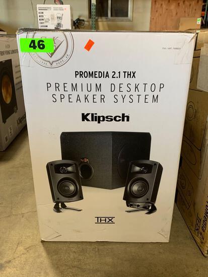 Klipsch Reference ProMedia 2.1 THX Premium Desktop Speaker System