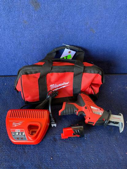 Milwaukee 12V Cordless Hackzall Reciprocating Saw*WORKS*