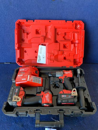 Milwaukee 18V 2 Tool Combination Kit*WORKS*COMPLETE*