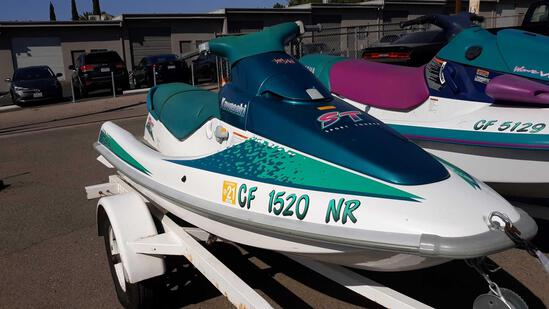 1995 KAWASAKI STI 750 Sport Tourer JetSki*NOT CURRENTLY RUNNING*SEE BELOW*
