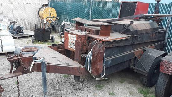 350 Gallon Full Automatic Roofing Hot Asphalt Pumper Kettle
