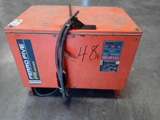 C&D FERRO Five FR Series 48 Volt Forklift Battery Charger*WORKING*